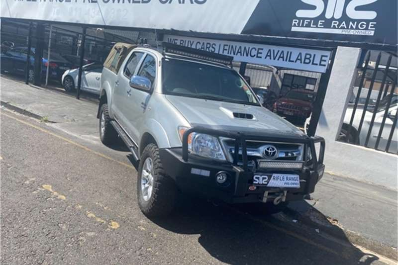 Used 2008 Toyota Hilux 3.0D 4D double cab Raider