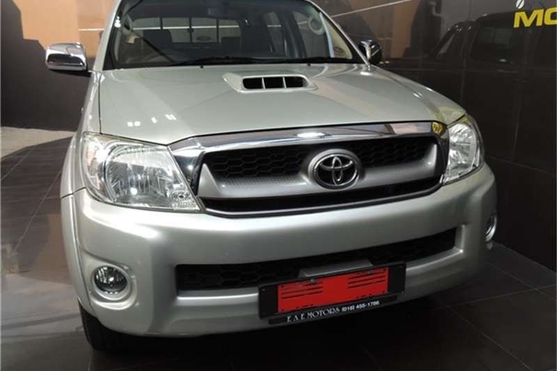 Used 2009 Toyota Hilux 3.0D 4D double cab Raider