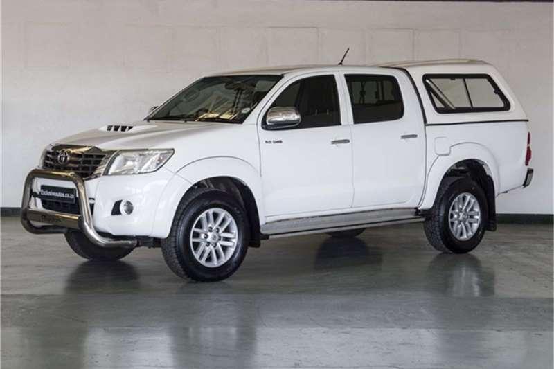 Toyota Hilux 3.0D-4D double cab Raider 2011