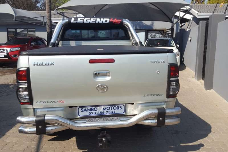 Used 2010 Toyota Hilux 3.0D 4D double cab Raider auto