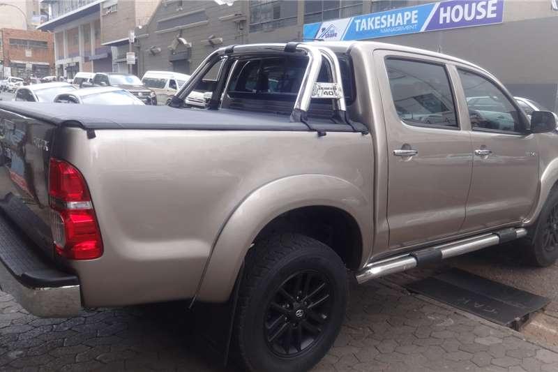 Toyota Hilux 3.0D 4D double cab Raider auto 2011