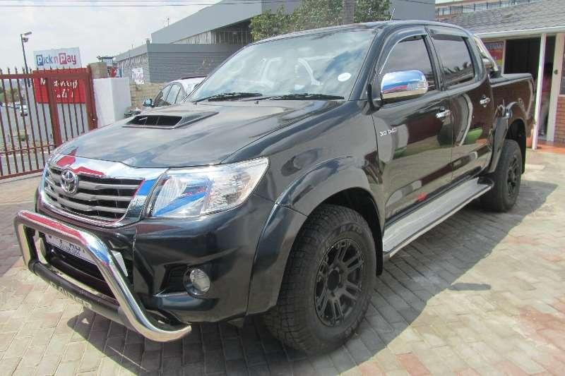 Toyota Hilux 3.0D 4D double cab Raider auto 2012