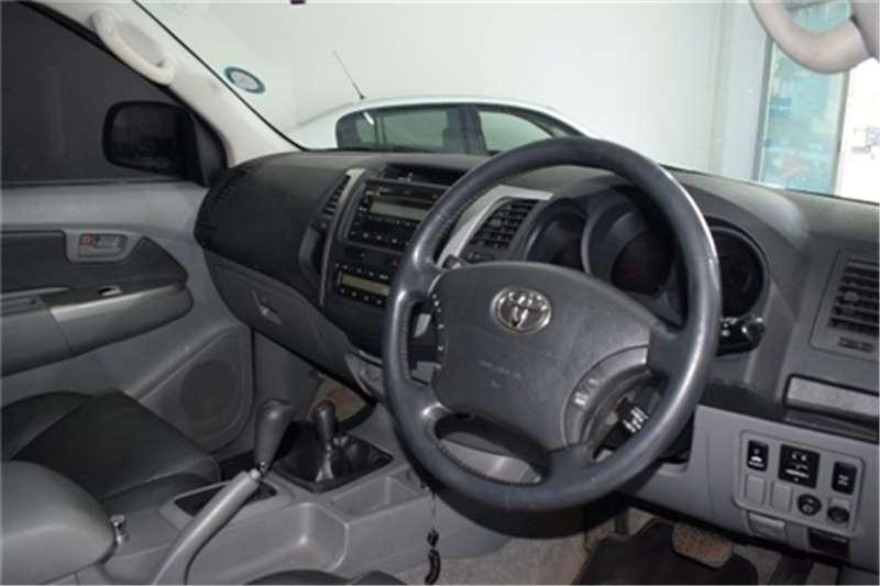Toyota Hilux 3.0D 4D double cab Raider automatic 2009