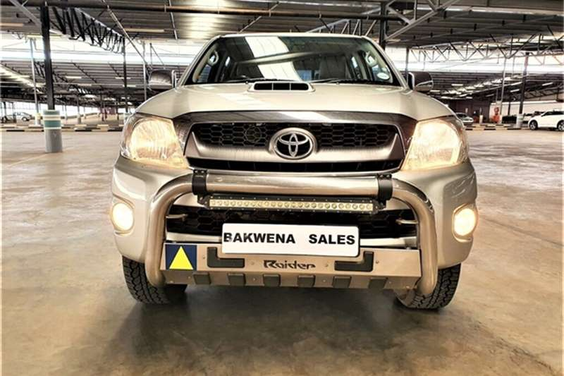 Used 2010 Toyota Hilux 3.0D 4D double cab Raider automatic