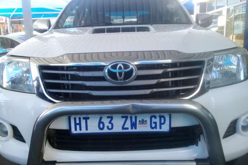 Toyota Hilux 3.0D 4D double cab Raider Dakar edition auto 2013