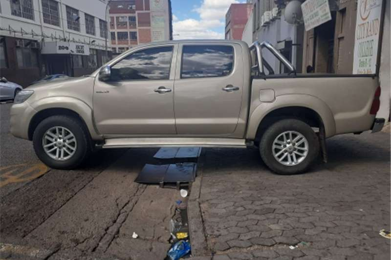 Used 2012 Toyota Hilux 3.0D 4D double cab Raider Heritage Edition