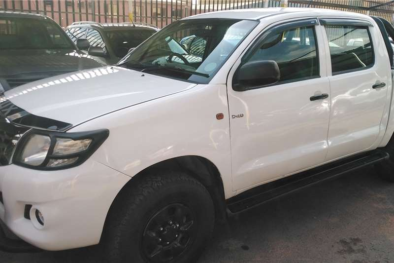 Used 2013 Toyota Hilux 3.0D 4D double cab Raider Heritage Edition