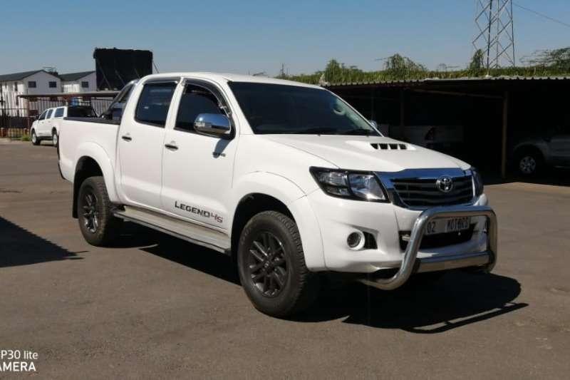 Toyota Hilux 3.0D 4D double cab Raider Legend 45 2013
