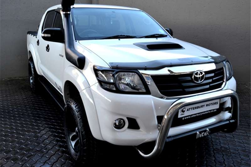 Toyota Hilux 3.0D 4D double cab Raider Legend 45 2015