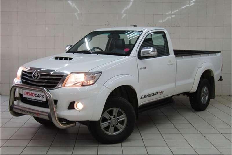 Toyota Hilux 3.0D 4D Raider Legend 45 2015