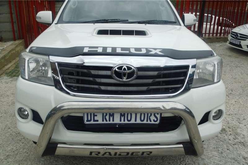 Toyota Hilux 3.0D 4D Single cab 4x4 Raider Dakar edition 2014