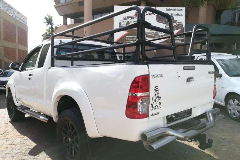 Used 2012 Toyota Hilux 3.0D 4D Xtra cab 4x4 Raider Dakar edition