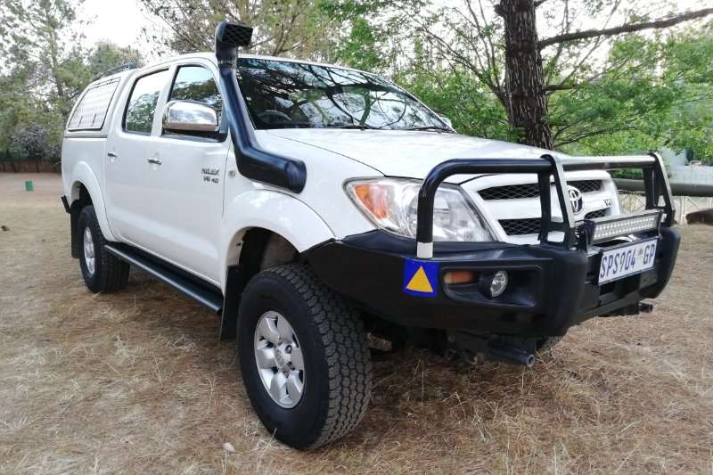 Toyota Hilux 4.0 V6 double cab 4x4 Raider 2005