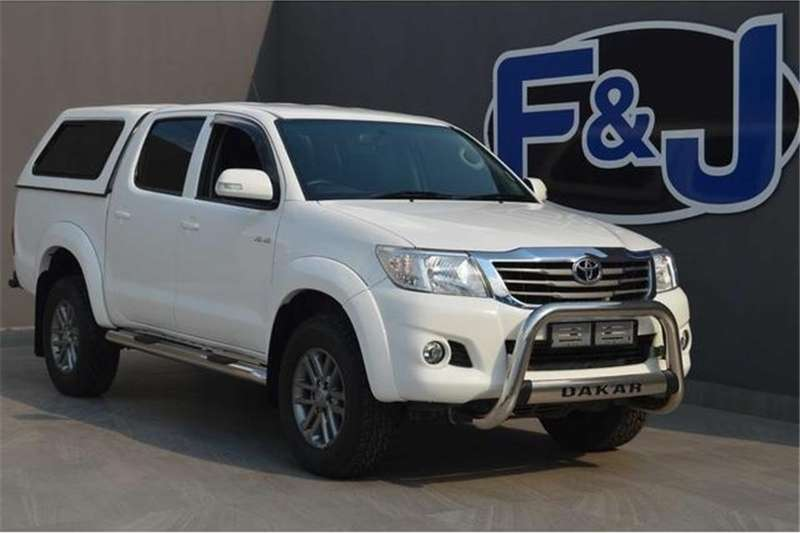 Toyota Hilux 4.0 V6 double cab Raider 2014