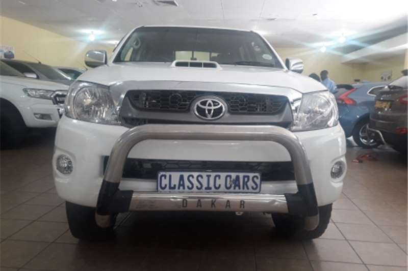 Toyota Hilux Double Cab 2011