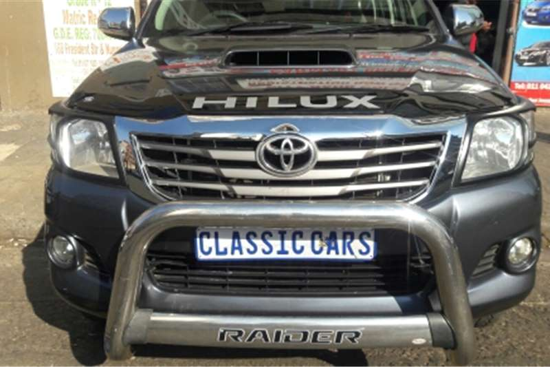 Toyota Hilux Double Cab 2014