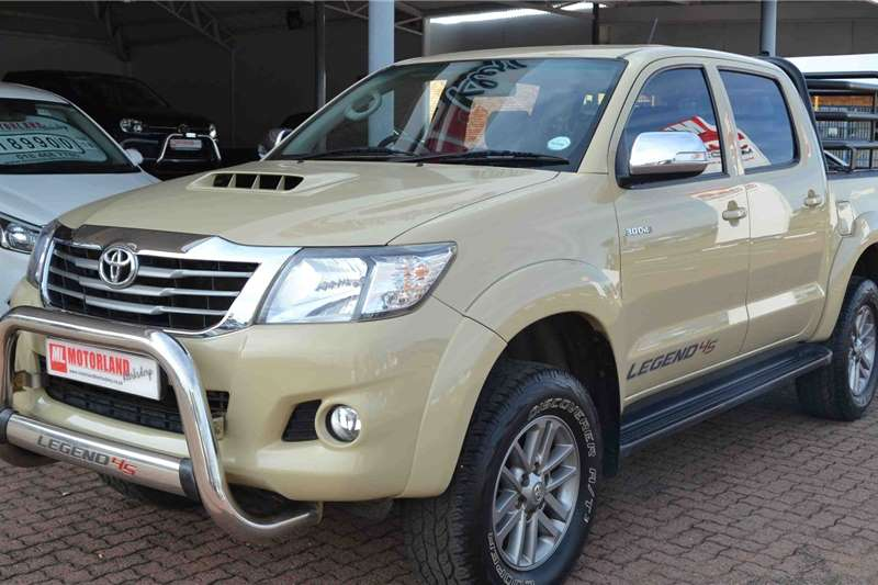 2015 Toyota Hilux double cab
