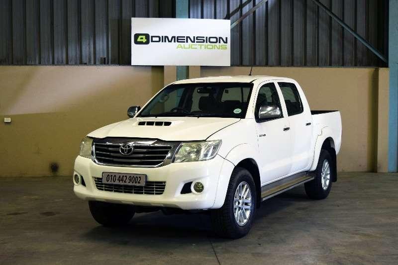 Toyota Hilux Double Cab 3.0 D4D 2012