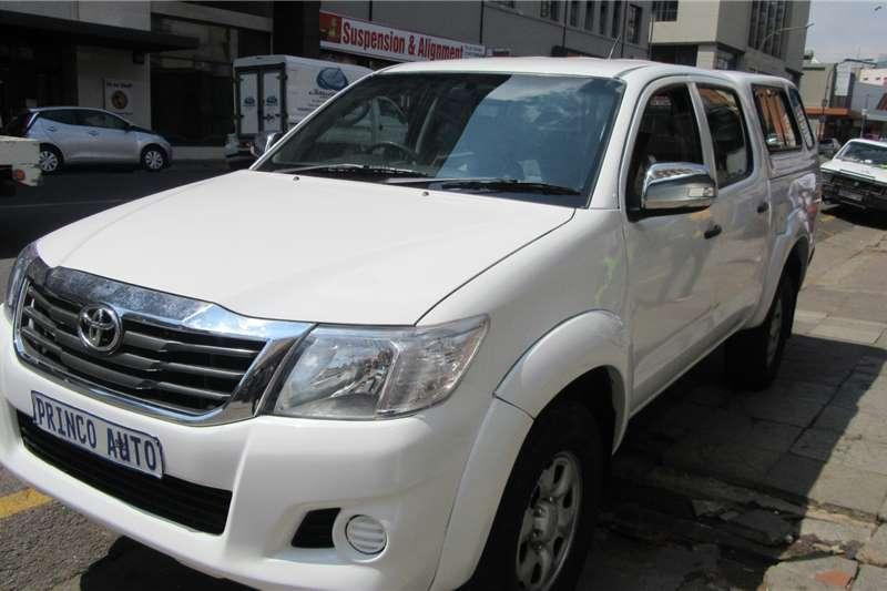 Toyota Hilux Double Cab 3.0 D4D 2013
