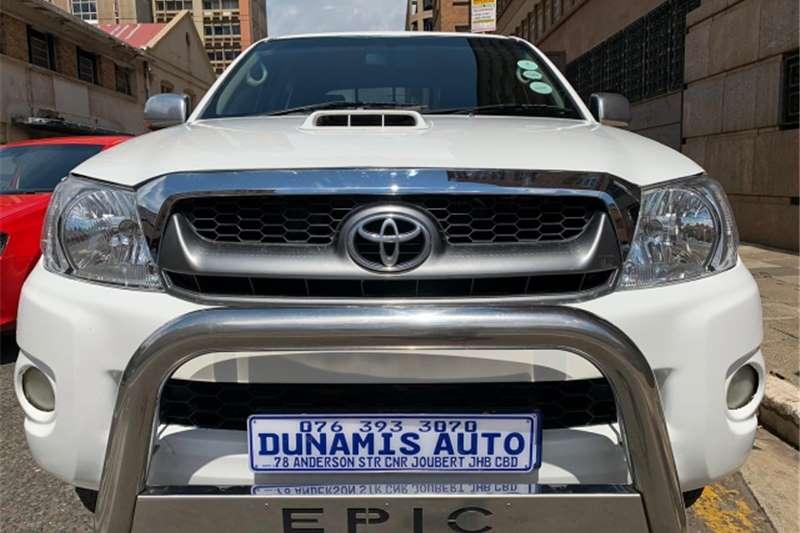 toyota hilux double cab 3.0 d4d 4x2 2009