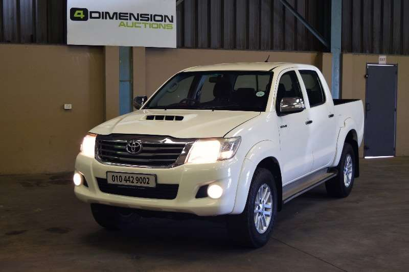 Toyota Hilux Double Cab 3.0 Raider 2012