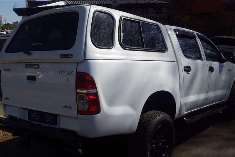 Used 2014 Toyota Hilux Double Cab HILUX 2.4 GD 6 RAIDER 4X4 A/T P/U D/C