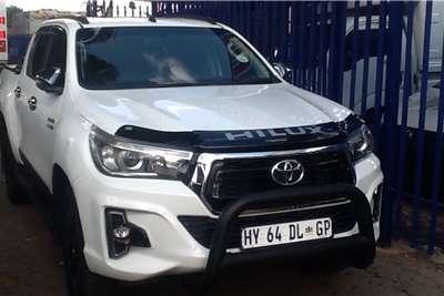 Toyota Hilux double cab HILUX 2.4 GD-6 RAIDER 4X4 A/T P/U D/C 2018