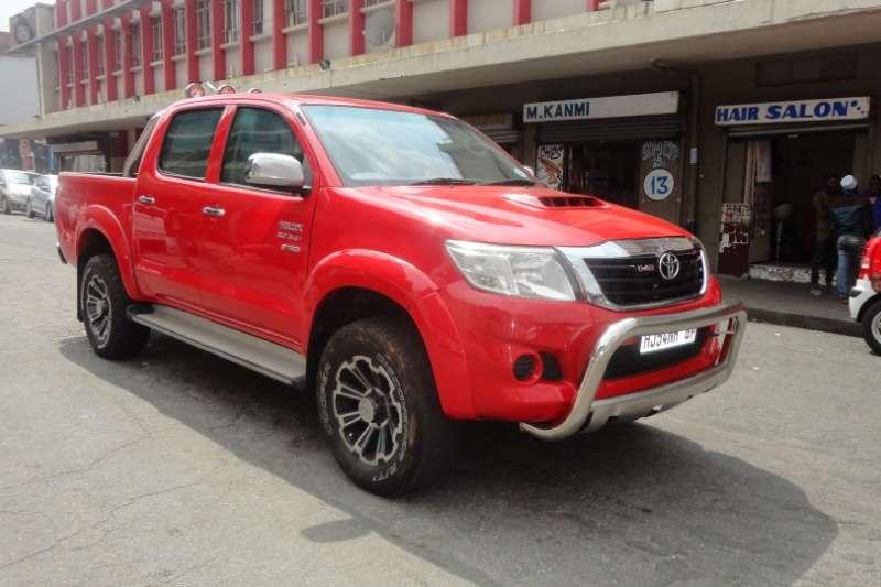 Toyota Hilux Double Cab HILUX 2.4 GD 6 RB S P/U D/C 2012