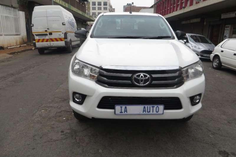 Toyota Hilux Double Cab HILUX 2.4 GD 6 RB S P/U D/C 2017