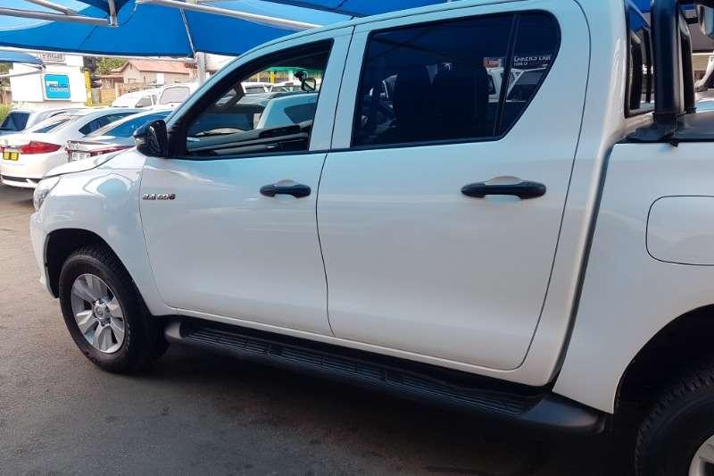 Toyota Hilux double cab HILUX 2.4 GD-6 RB SRX A/T P/U D/C 2017