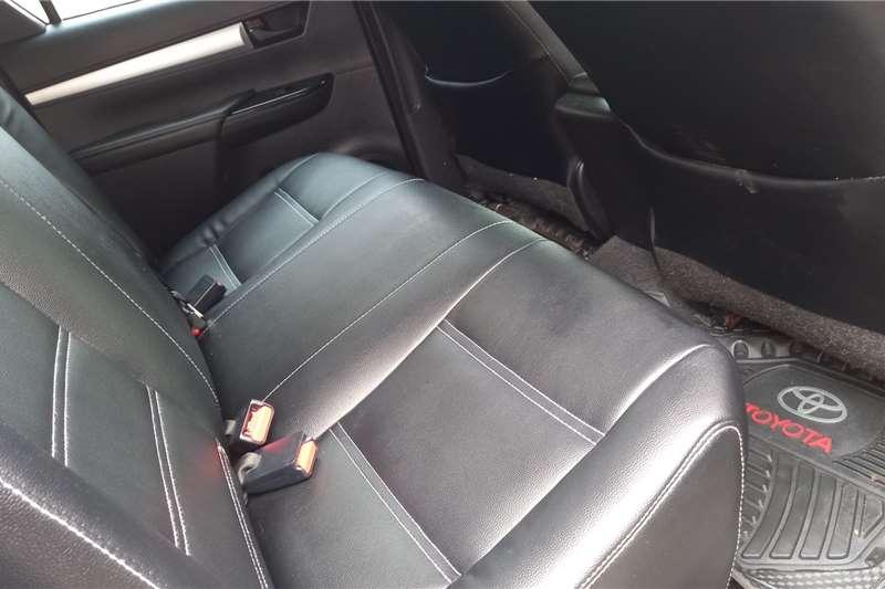Used 2018 Toyota Hilux Double Cab HILUX 2.4 GD 6 RB SRX A/T P/U D/C