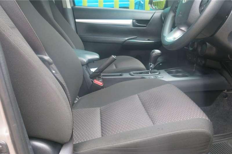 Used 2018 Toyota Hilux Double Cab HILUX 2.4 GD 6 RB SRX P/U D/C