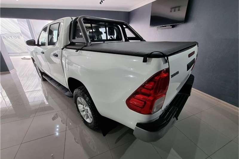 2018 Toyota Hilux double cab HILUX 2.4 GD-6 RB SRX P/U D/C