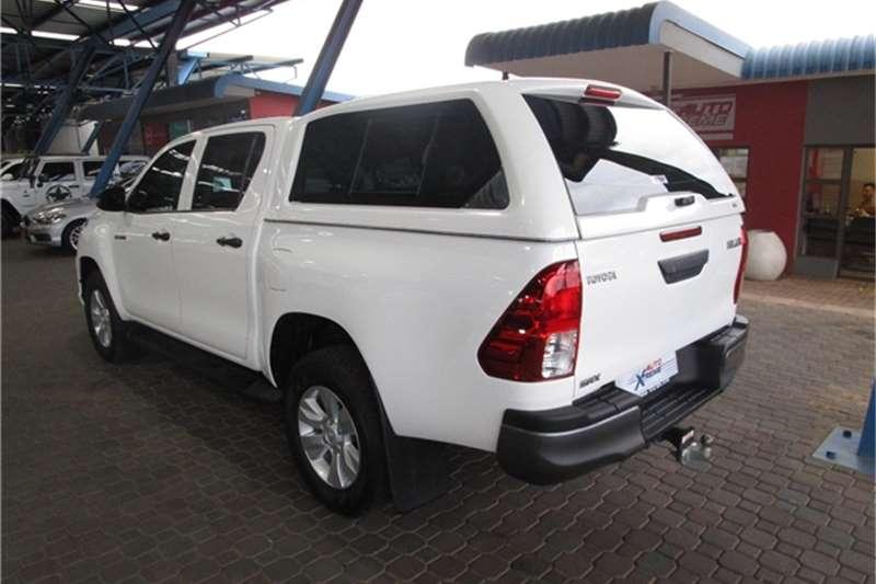 Used 2019 Toyota Hilux Double Cab HILUX 2.4 GD 6 RB SRX P/U D/C