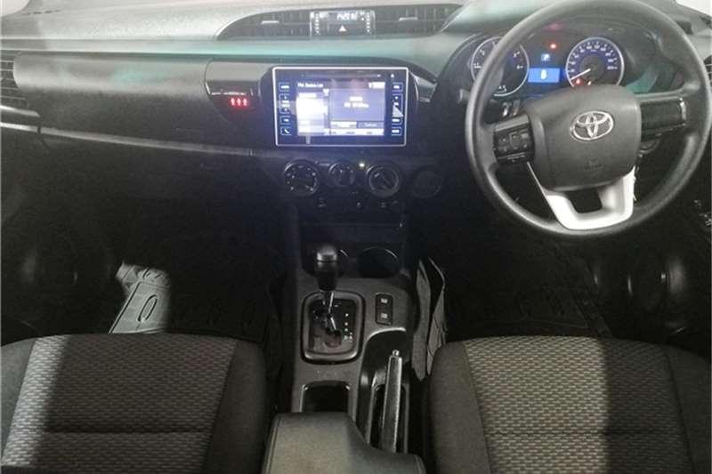 2018 Toyota Hilux double cab HILUX 2.4 GD-6 SRX 4X4 A/T P/U D/C
