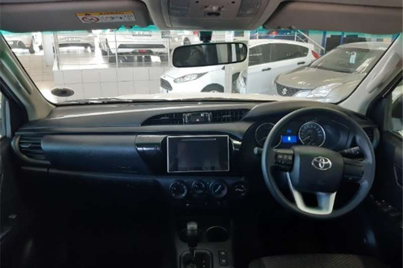 Toyota Hilux double cab HILUX 2.4 GD-6 SRX 4X4 A/T P/U D/C 2019