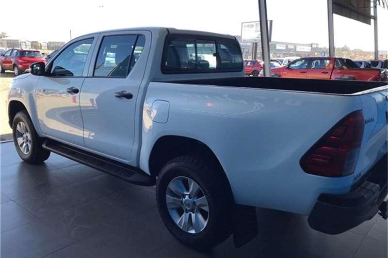 Used 2019 Toyota Hilux Double Cab HILUX 2.4 GD 6 SRX 4X4 A/T P/U D/C
