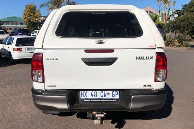 2019 Toyota Hilux double cab HILUX 2.4 GD-6 SRX 4X4 A/T P/U D/C