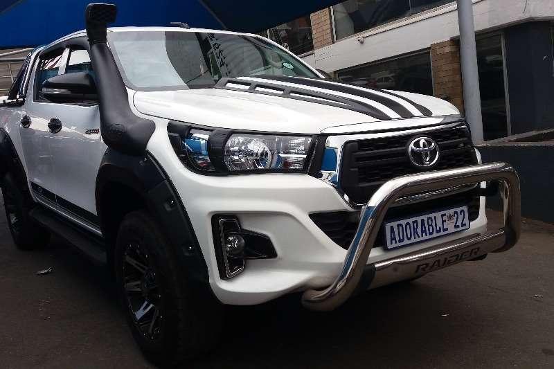 Toyota Hilux Double Cab HILUX 2.4 GD 6 SRX 4X4 P/U D/C 2017