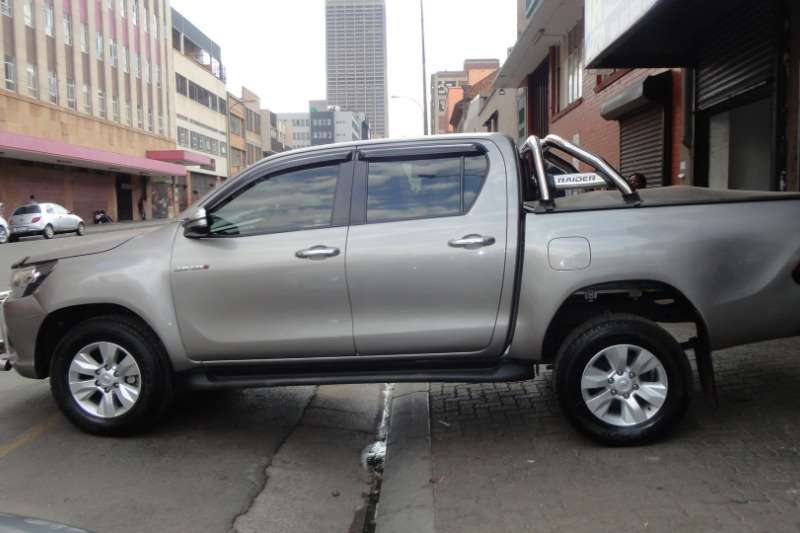 Toyota Hilux Double Cab HILUX 2.4 GD 6 SRX P/U D/C 4X4 2013