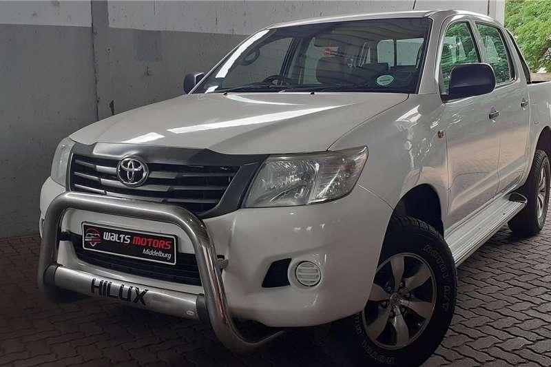 Toyota Hilux Double Cab HILUX 2.4 GD 6 SRX P/U D/C 4X4 2014