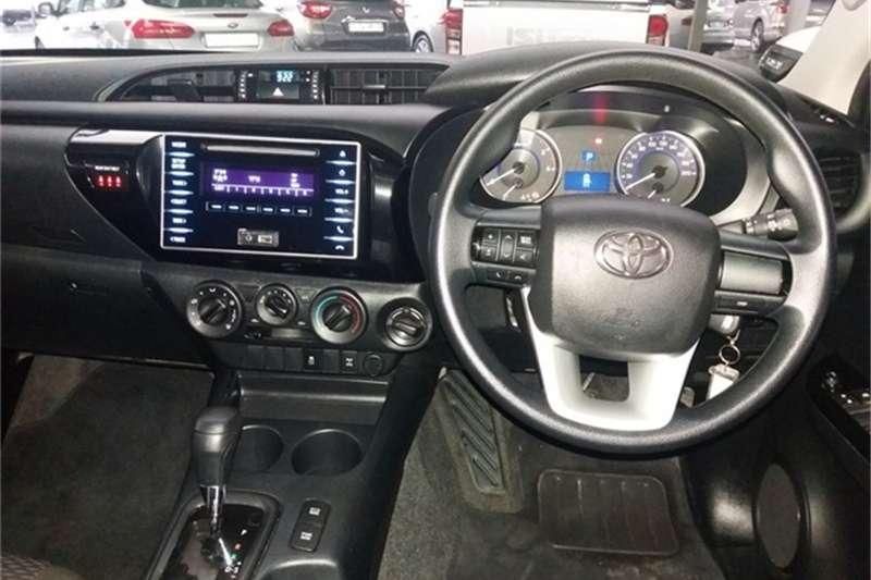 Toyota Hilux double cab HILUX 2.4 GD-6 SRX P/U D/C 4X4 A/T 2018
