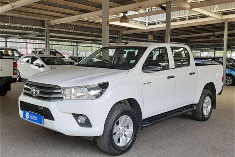 Toyota Hilux Double Cab HILUX 2.4 GD 6 SRX P/U D/C 4X4 A/T 2018