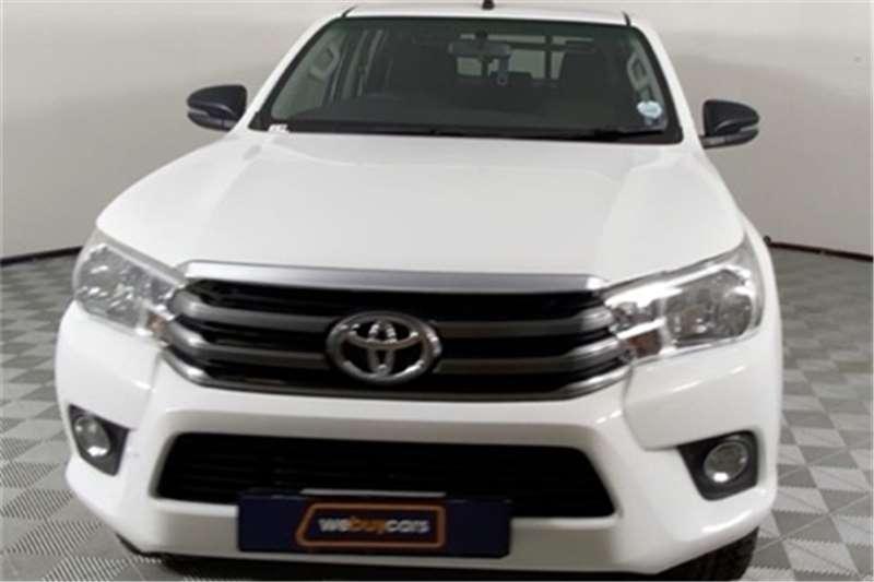2018 Toyota Hilux double cab HILUX 2.4 GD-6 SRX P/U D/C 4X4 A/T