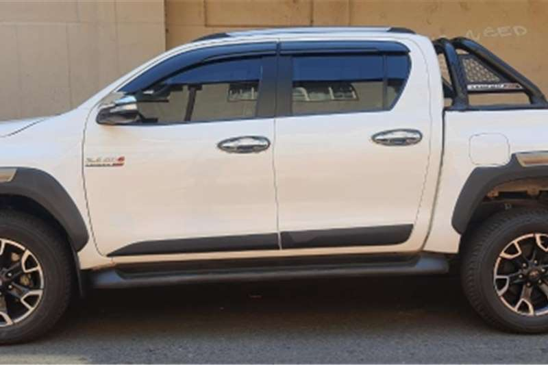 Used 2019 Toyota Hilux Double Cab HILUX 2.4 GD 6 SRX P/U D/C 4X4 A/T