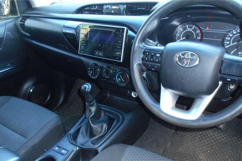 Used 2016 Toyota Hilux Double Cab HILUX 2.7 VVTi RB S P/U D/C