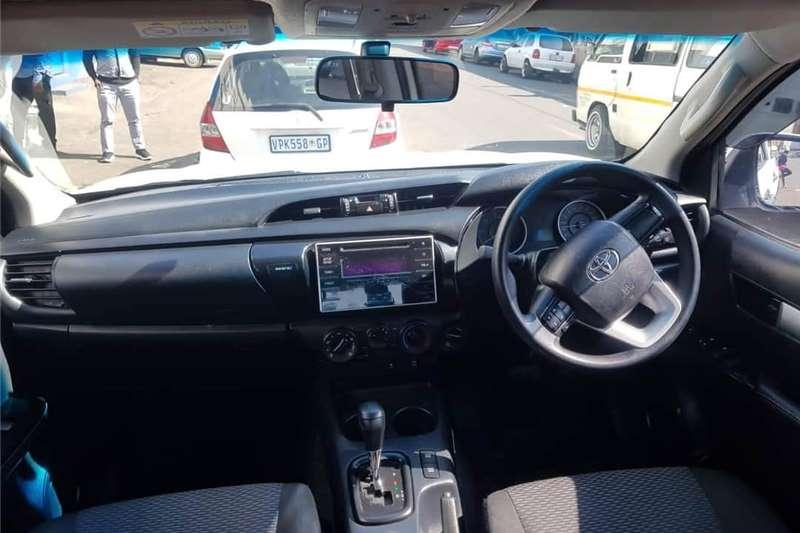 Toyota Hilux double cab HILUX 2.8 GD-6 RAIDER 4X4 A/T P/U D/C 2017
