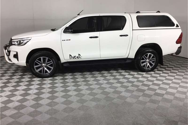 Used 2018 Toyota Hilux Double Cab HILUX 2.8 GD 6 RAIDER 4X4 P/U D/C