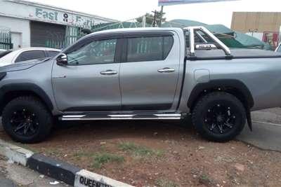 Used 2016 Toyota Hilux Double Cab HILUX 2.8 GD 6 RB RAIDER P/U D/C