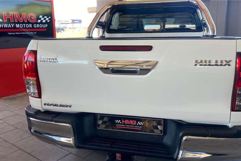 Used 2019 Toyota Hilux Double Cab HILUX 2.8 GD 6 RB RAIDER P/U D/C